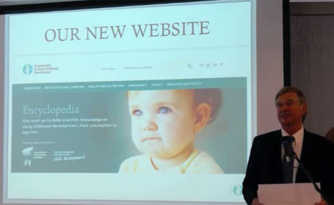 The Encyclopedia on Early Child Development Website Launch